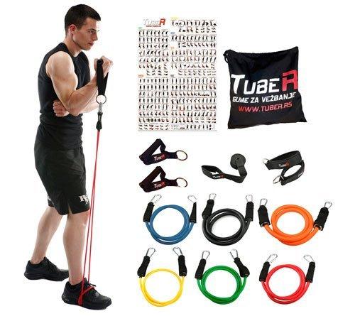 Tuber-Man-Sport set guma za vezbanje